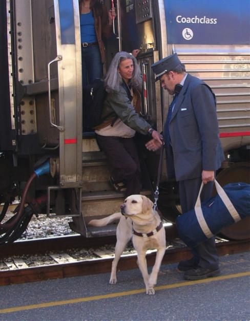 Service Animals on Amtrak